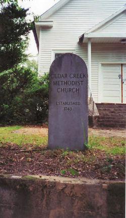 Cedar Creek Methodist Church Cemetery