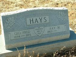 Ora Fay <i>Morrow</i> Hays