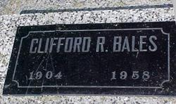 Clifford Roosevelt Bales