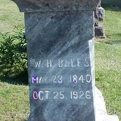 William Hawkins Bales