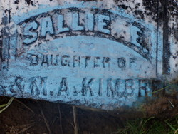 Sallie E Kimbrel