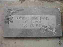 Raymond King Daines