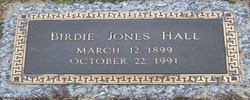 Birdie May <i>Jones</i> Hall