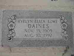 Evelyn Eliza <i>Lowe</i> Daines