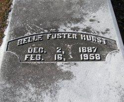 Belle <i>Foster</i> Hurst
