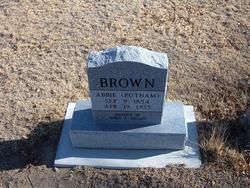 Abbie <i>Putnam</i> Brown