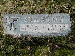 Clara Blair <i>Genther</i> Stanton