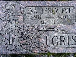 Eva Jenevieve <i>Yager</i> Byrd Griswold