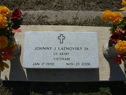 Johnny Joe Laznovsky, Sr