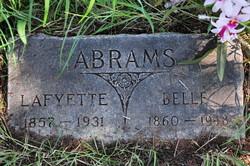 Elizabelle Belle <i>McWethy</i> Abrams