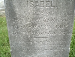 Mary Isabelle <i>Wible</i> Anderson