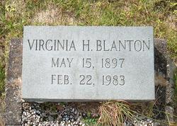 Virginia Tison <i>Hilsman</i> Blanton