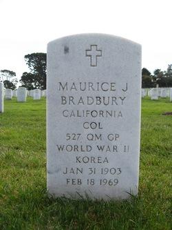 Col Maurice Joseph Bradbury