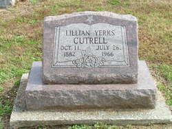 Lillian <i>Yerks</i> Cutrell