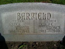 Helen E. <i>Lindsey</i> Barfield