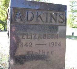 Elizabeth <i>Shanks</i> Adkins