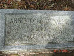 Annie <i>Collins</i> Barrs