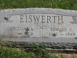 Catherine Angela <i>Couchie</i> Eiswerth