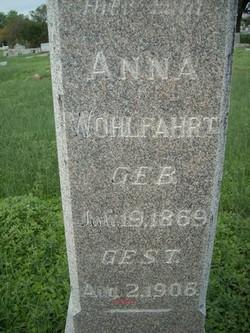 Anna <i>Ziem</i> Wohlfahrt