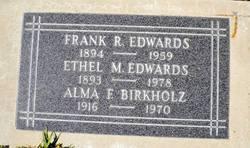 Alma F. <i>Edwards</i> Birkholz
