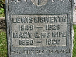 Mary E <i>Dincher</i> Eiswerth