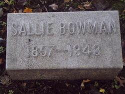 Sallie Ella Bowman