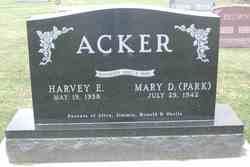 Mary D <i>Park</i> Acker