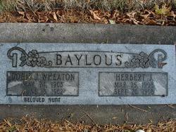 Herbert J Baylous