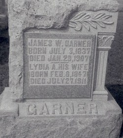 Lydia A. <i>Slusser</i> Garner