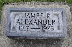 James R Alexander