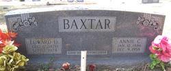 Edward D Baxtar