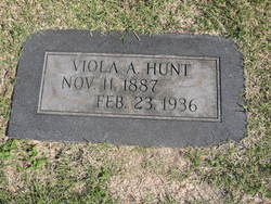 Viola Anna <i>Carpenter</i> Hunt