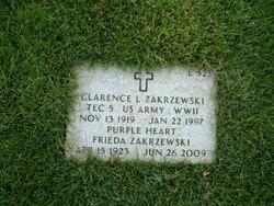 Clarence L Zakrzewski