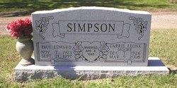 Carrie Leona <i>Moore</i> Simpson