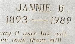 Jannie Beatrice <i>Yancey</i> Atha