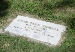Boyd Glenn Tidwell