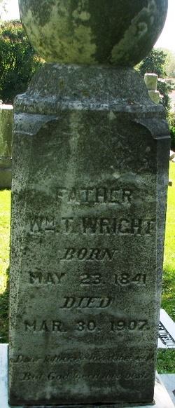William T Wright