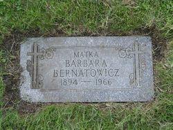 Barbara <i>Zajaczkowska</i> Bernatowicz