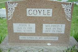 Sgt John Robert Coyle