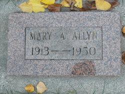 Mary A <i>Knowles</i> Allyn
