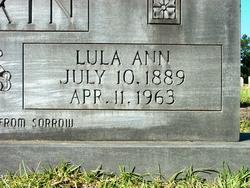 Lula Annie <i>Mayfield</i> Boykin