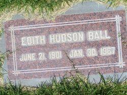 Edith L <i>Hudson</i> Ball