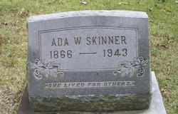 Ada W Skinner