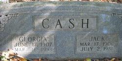 Georgia Cash