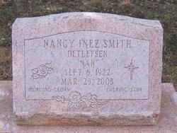 Nancy Inez Nan <i>Smith</i> Detlefsen