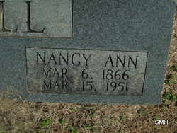 Nancy Ann Hill