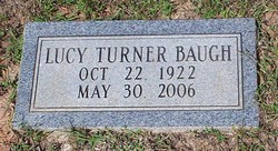 Lucy <i>Turner</i> Baugh