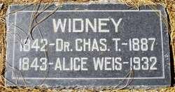 Alice <i>Weis</i> Widney