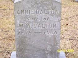 Annie <i>Dalton</i> Dalton