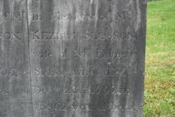 Keziah <i>Benton</i> Slosson